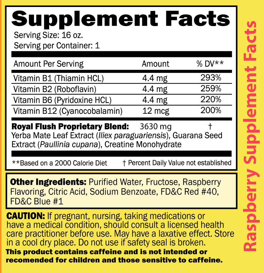 Fast Detox Drink Stat Royal Flush Liquid Detox